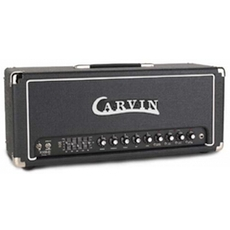 carvin x100b - Carvin X-100B Series IV Guitar Tube Amp Head-Rare White Tolex W/Footswitch